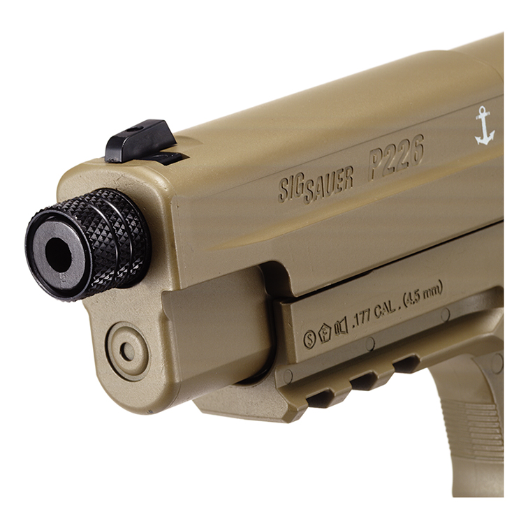 Sig Sauer P226 CO2 Air Pistol FDE Finish