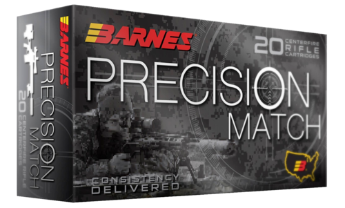 Barnes .308WIN 175gr Precision Match