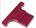 [ASG18589] ASG Rear Sight Plate CZ Shadow - Red