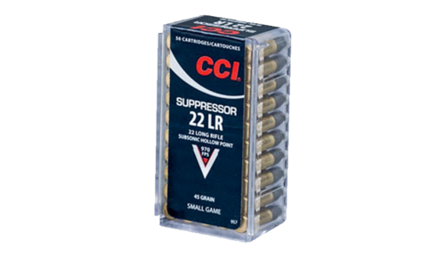CCI .22LR 45gr Suppressor
